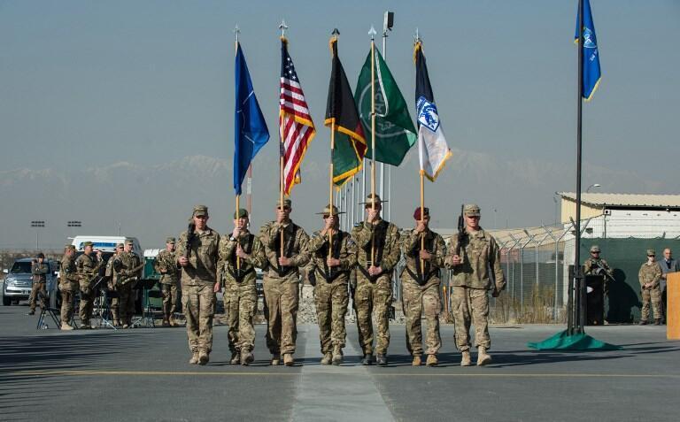 Binh sĩ NATO tại Kabul, Afghanistan. Ảnh chụp năm 2014.