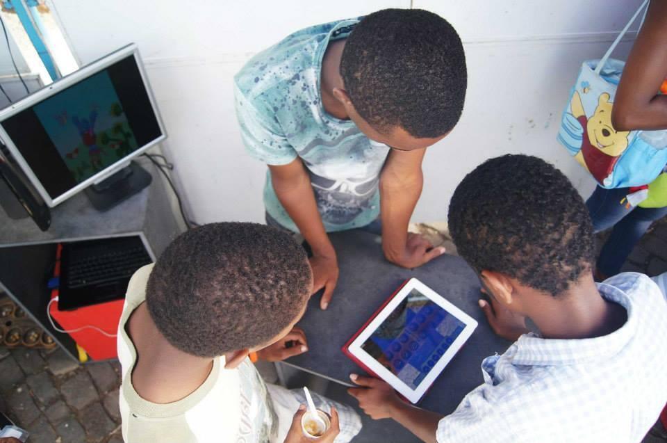 Bonako, uma start-up cabo-verdiana, que produz jogos, vídeo e aplicações.
