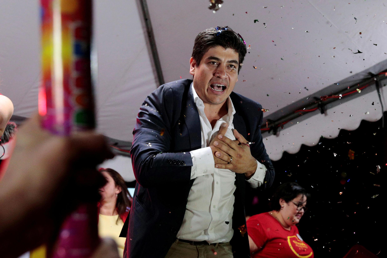 O deputado Fabricio Alvarado, um pregador evangélico contrário ao casamento gay , foi o mais votado no primeiro turno da eleição presidencial da Costa Rica. Foto do 04/02/17