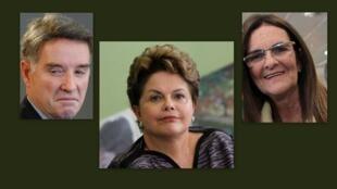 O bilionário Eike Batista, a presidente Dilma Rousseff e a dirigente da Petrobrás, Maria da Graça Silva Foster, estão na lista das 100 pessoas mais influentes do mundo da revista Time.