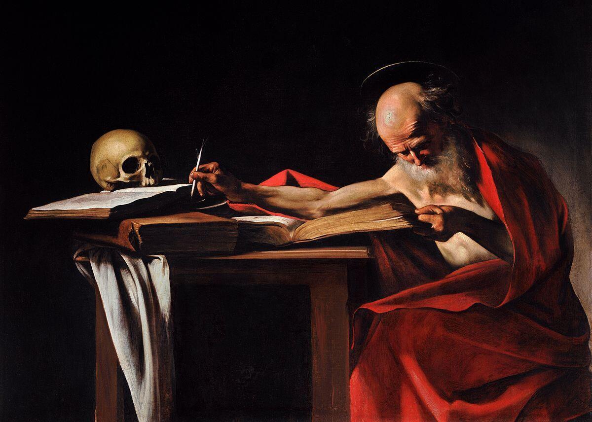 Микеланджело Караваджо, Святой Иероним, около 1606 г.