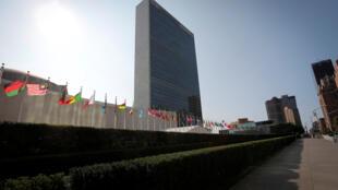 Le siège de l'Organisation des Nations Unies à New York, le 21 septembre 2020.