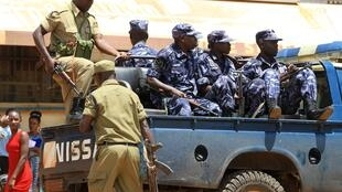 Ugandan police arrest 8 people, suspected of participating in the assassination of Prosecutor, Joan Kagezi, April 7 2015.