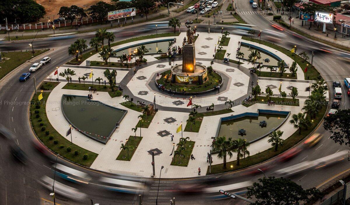 Largo da Independência, em Luanda.