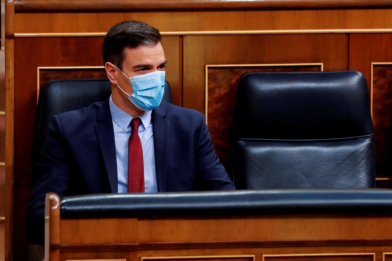 Le Premier ministre espagnol Pedro Sanchez a appelé les députés à l'unité, ce mercredi 20 mai 2020, pour prolonger l'état d'urgence de deux semaines.