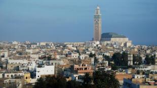 Vue de Casablanca au Maroc.