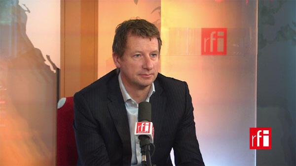 Yannick Jadot, député européen EELV et porte-parole des Verts.