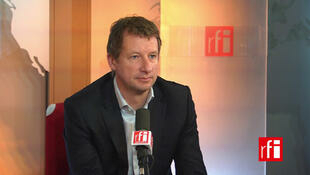 Yannick Jadot, député européen EELV et  coordinateur du groupe des Verts pour la COP21