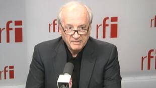 Hubert Védrine, antigo secretário-geral do Eliseu e antigo ministro dos Negócios Estrangeiros.