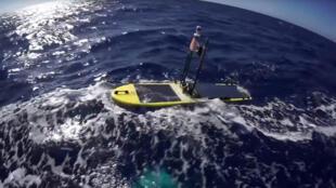 Le drone détecteur de tsunamis.