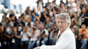 O diretor Roman Polanski apresenta um filme fora da competição em Cannes.