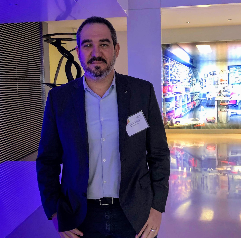 Christian de Castro, presidente da Agência Nacional do Cinema (Ancine).