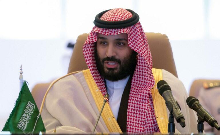 (Ảnh minh họa) - Hoàng thái tử Ả Rập Xê Út Mohammed Ben Salmane trong một cuộc họp tại Ryad, ngày 26/11/2017.