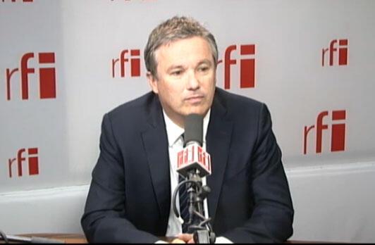 Nicolas Dupont-Aignan, président de Debout la République, député de l'Essonne.
