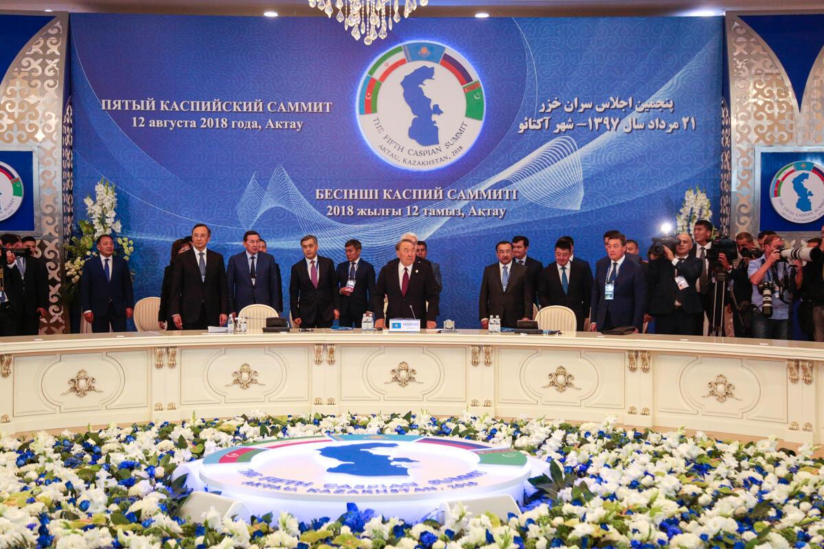 Вподписание главного документа этой встречи— Конвенции оправовом статусе Каспийского моря— неверили многие эксперты
