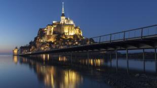 法國旅遊勝地聖米歇爾山