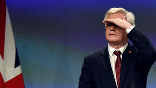 Secretário de Estado para o Brexit, David Davis. Reino Unido não previu os ataques cibernéticos para influenciar o referendo.