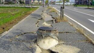 Conséquences d'un séisme.
