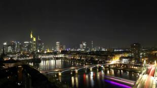 Ночной Франкфурт, 10 декабря 2016