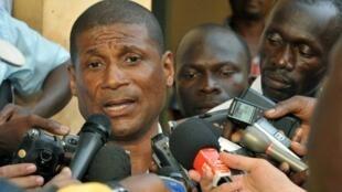 Fernando Vaz, Ministro da Comunicação e porta-voz do Governo Guineense de Transição