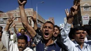 As manifestações continuam no Iêmen, contra o governo do presidente, Ali Abdallah Saleh.