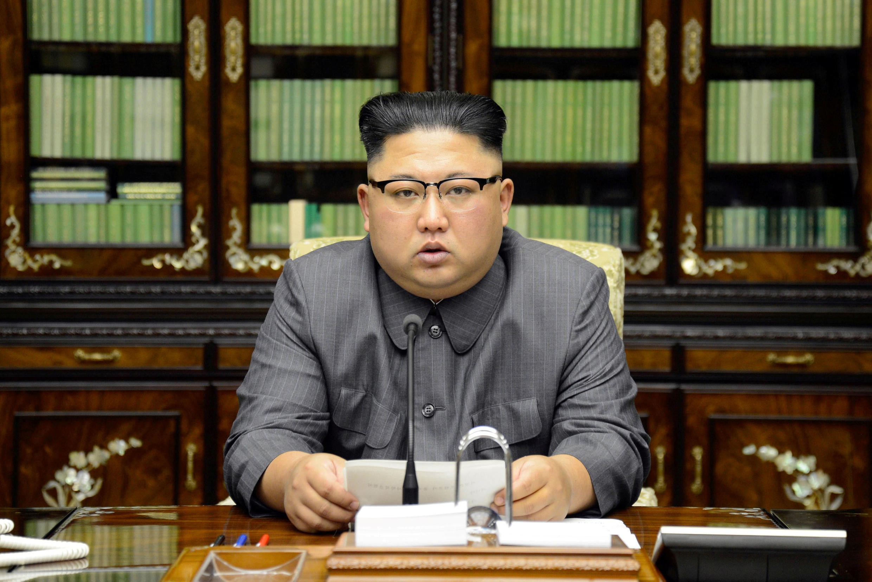 Kiongozi wa Korea Kaskazini Kim Jong-un amjibu Donald Trump baada ya rais huyo wa MArekani kuitisha Kora Kaskazini kwamba ataisambaratisha.
