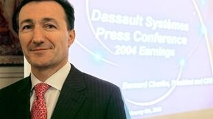 Le directeur général de Dassault Systèmes, Bernard Charlès, le 9 février 2005.