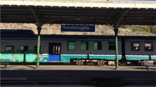 Gare de Vintimille.