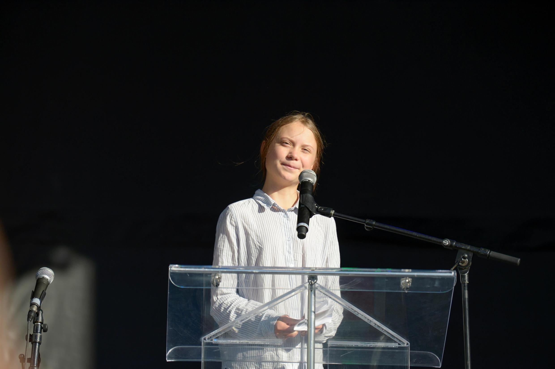 A sueca Greta Thunberg virou um símbolo da luta pela defesa do meio-ambiente.