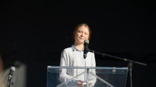 A ativista sueca Greta Thunberg tornou-se porta-voz do movimento mundial de jovens em defesa do clima.