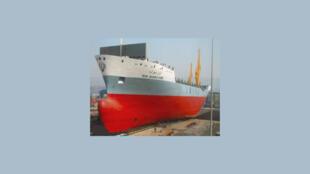 """کشتی ایرانی به نام """"شهر کرد"""" که در فهرست تحریمهای آمریکا و اتحادیۀ اروپا قرار دارد."""