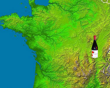 The wine takes its name from the Beaujolais region