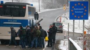 奧德邊界的移民
