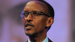Paul Kagame, le 11 juillet 2012 à Londres.