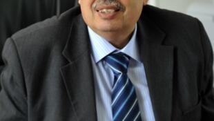 Le doyen de la faculté des lettres de Manouba, Habid Kazdaghli, après son acquittement, le 2 mai 2013.