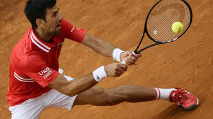 Djokovic's previous match was his Italian Open final loss to Rafael Nadal