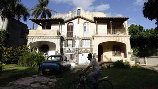 Cuba: casa en el barrio de Miramar de La Habana.