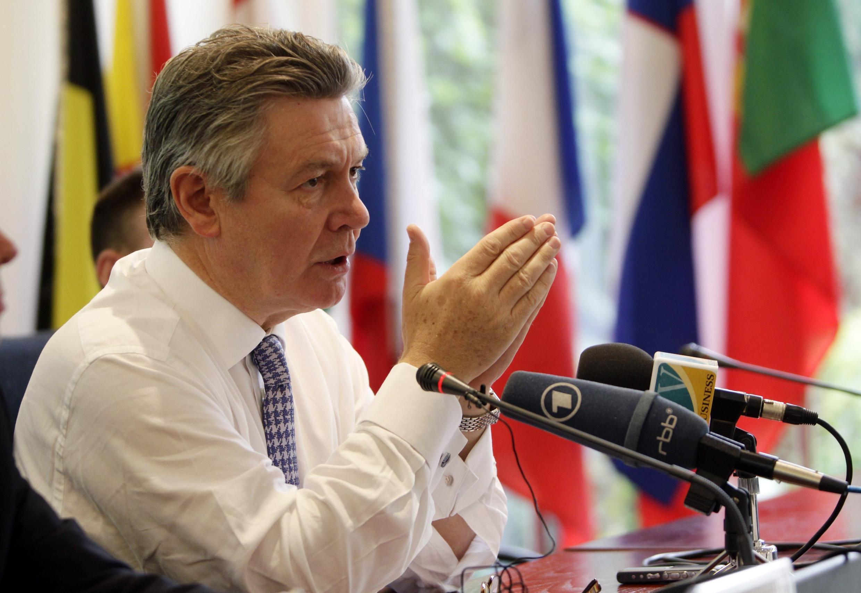 លោក Karel De Gucht ស្នងការអឺរ៉ុបទទួលបន្ទុកពាណិជ្ជកម្ម