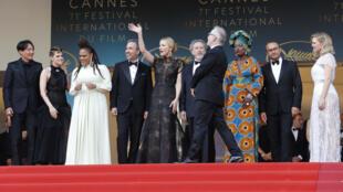 Thành phần ban giám khảo Liên Hoan điện ảnh Cannes lần thứ 71, ngày 08/05/2018.