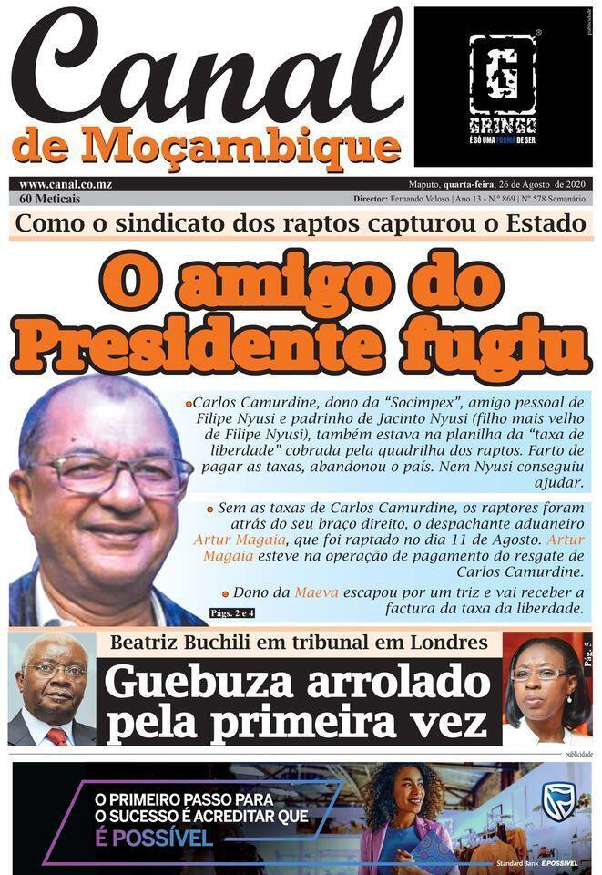 Canal de Moçambique
