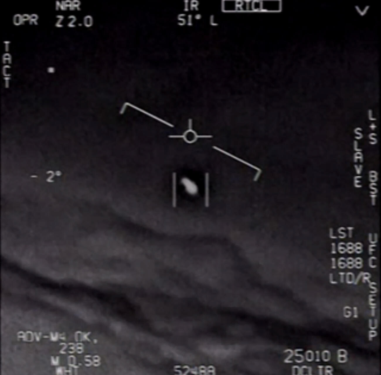 The Pentagon in April officially released three videos taken by US Navy pilots showing mid-air encounters with what appear to be UFOs