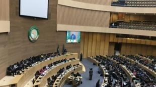 Sede União Africana, em Addis Abeba, construída pela China