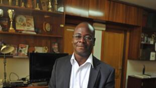 Venance Konan, directeur du journal ivoirien «Fraternité Matin».
