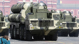 Missiles sol-air russes S-300.