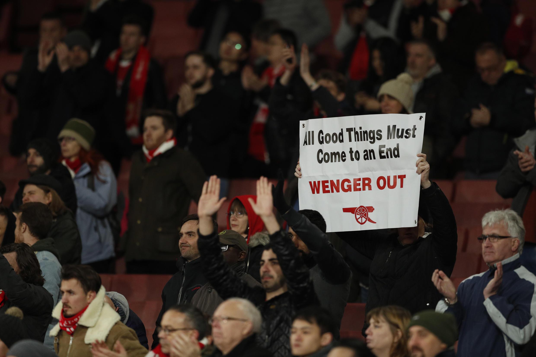 Magoya bayan Arsenal sun gaji da Arsene Wenger