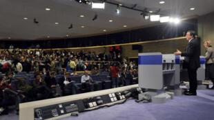 José Manuel Barroso annonce la nouvelle Commission européenne