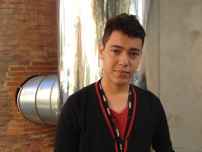 Leonardo Mouramateus ainda não terminou a faculdade de cinema mas já participou de diversos festivais internacionais.