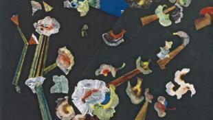 Une oeuvre de Max Ersnt : «Fleurs de neige», créée à Paris en 1929.