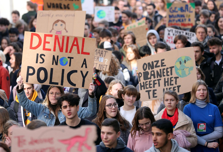 Belgas estão entre os mais ativos nas manifestações para pressionar governos e empresas a proteger o planeta.