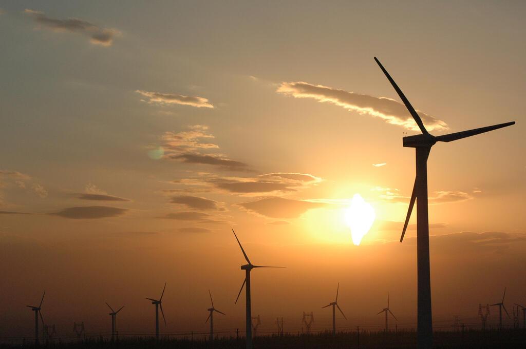 Les centrales éoliennes dans le Xinjiang, en Chine. (photo d'illustration)